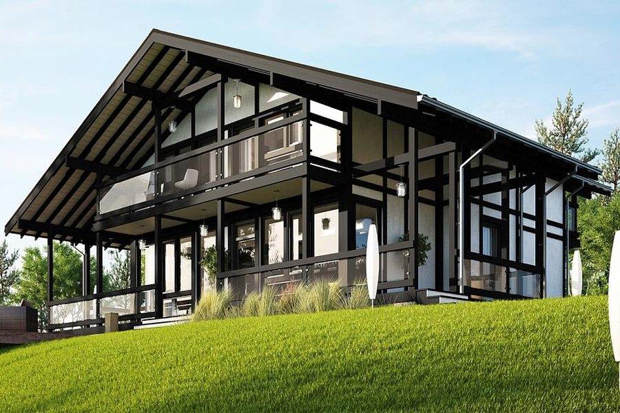 Фахверковые дома: имитация, основные элементы каркаса, купить деревянный дом под ключ, купить деревянный дом